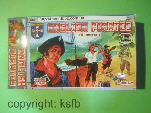 1:72 Orion #001 englische Piraten Seeleute Freibeuter Skelett Kanone Frau