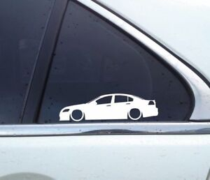2X-Lowered-car-silhouette-stickers-for-Holden-Commodore-VE-SS