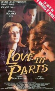 DVD-Love-In-Paris-Mickey-Rourke-Occasion