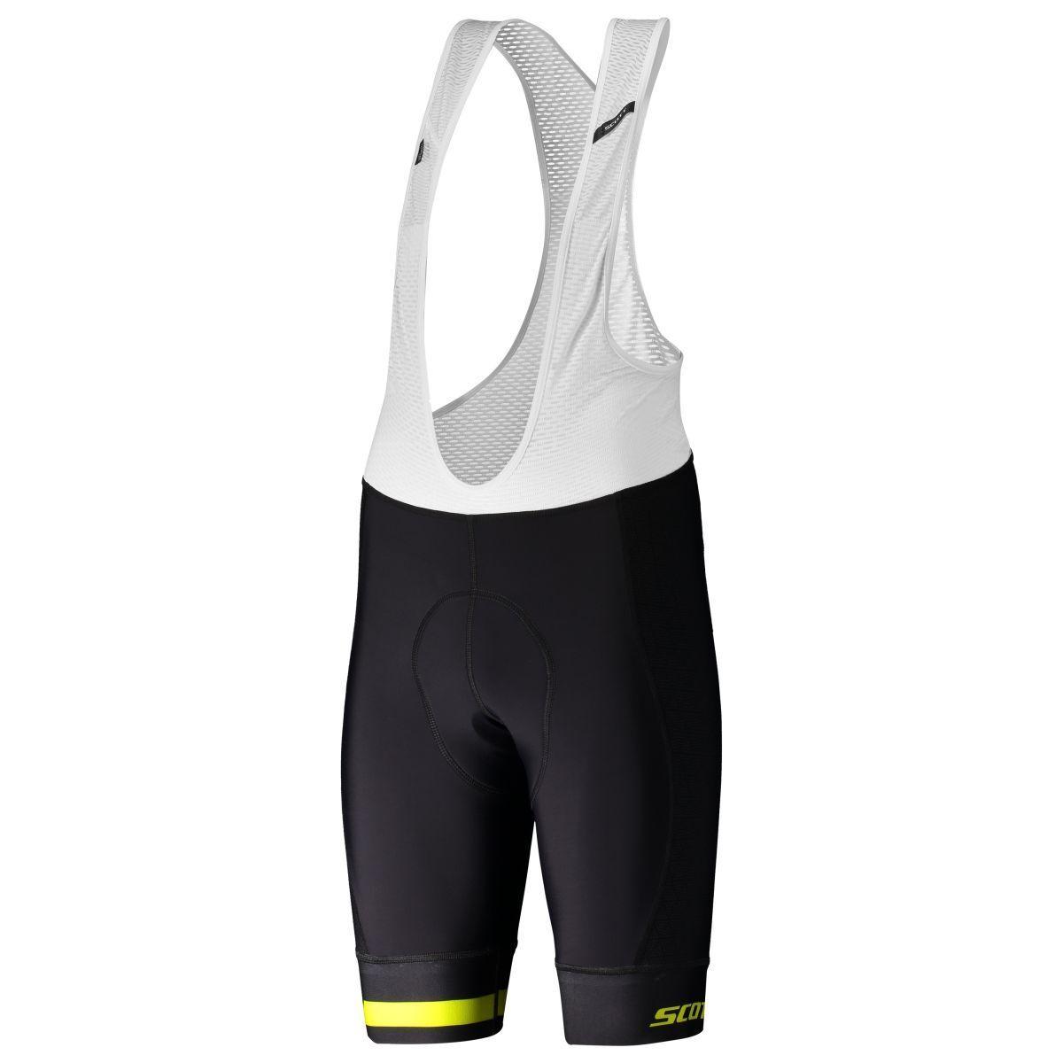 Scott RC Premium ITD ++++ Fahrrad Trägerhose kurz black yellow 2019