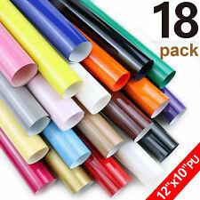 17 Pack Heat Transfer Vinyl Sheets Bundle 12x10 Htv For Diy T Shirt Iron On Us