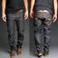 Nudie-Herren-Regular-Tapered-Fit-Raw-Jeans-Sharp-Bengt-Dry-Dirt-Organic Indexbild 1