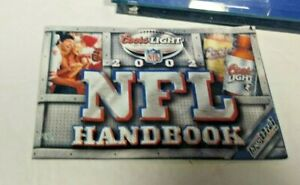 2002-COORS-LIGHT-ADVERTISING-NFL-HANDBOOK-SOUVENIR-COLLECTIBLE