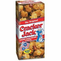 Quaker Oats Original Cracker Jack Box 1oz. 25/ct Multi 02914 on sale