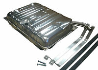 49-52 Chevy Stainless Steel Gas Fuel Tank Kit W/ Straps Free Shipping