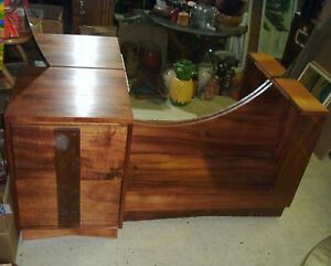 Image Is Loading Vintage Koa Wood Vanity Hawaii Hawaiian Furniture