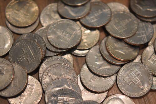 40 coins 1976 Kennedy Half Dollar Rolls 1776-1976 Bicentennial Coins 2