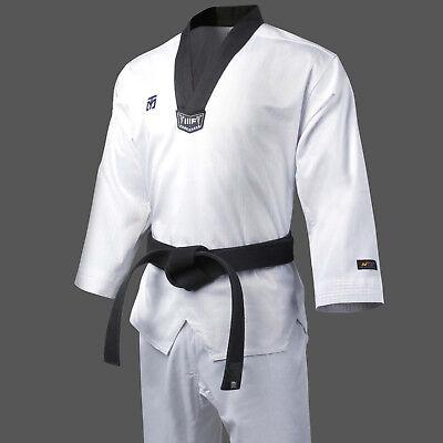 Women Mooto Taekwondo V Neck Uniform Dobok Gi Training TKD  WTF KTA Approved New