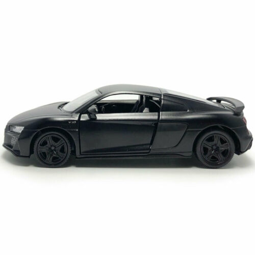 Audi R8 Coupe 2019 Sports Car 1:36 Model Car Diecast Gift Toy Vehicle Kids Black