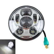 "5 3/4"" LED Chrome Daymaker Projector Headlight For Harley Sportster XL 1200 883"