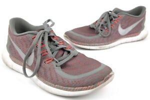 2ad5c1e10a6fc Mens Nike Free 5.0 Print 749592-008 Grey Bright Crimson Red White ...