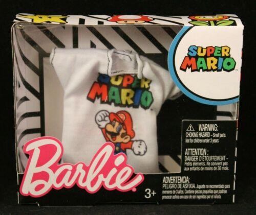 Super Mario T Shirt FLP40//FLP56 Super Mario Barbie Fashion