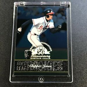 CHIPPER-JONES-1998-LEAF-153-FRACTAL-FOUNDATION-50TH-ANNIVERSARY-PARALLEL