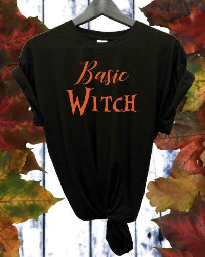 Basic Witch Halloween Unisex T shirt FDC