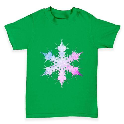Twisted ENVY multicolores Copo de Nieve Bebé Niño Gracioso Camiseta