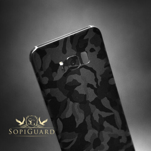 SopiGuard 3M Black Camo Vinyl Skin Rear Wrap for Microsoft Surface Pro 4