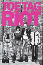 TOE TAG RIOT 1 - VARIANT COVER (MODERN AGE 2014) - 9.6