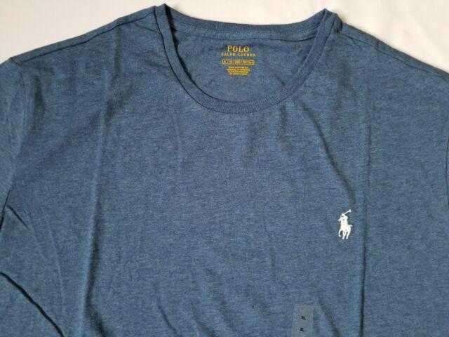 ebbcf5cd4 Polo Ralph Lauren Men s Classic Fit Short Sleeve Crewneck Tee T Shirt Top  New