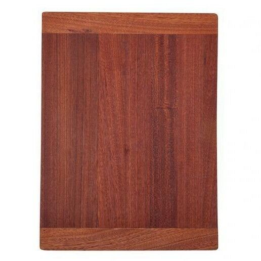 AFA VERTUS CHOPPING BOARD Solid Wood MAHOGANY- 425x315mm Or 425x365mm