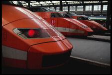 223022 High speed TGV TrainsGare De Lyon Paris A4 Photo Print