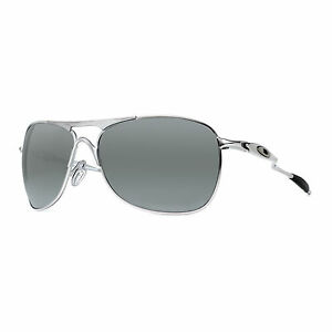 Oakley-Crosshair-OO4060-06-Matte-Lead-Black-Iridium-Polarized-Aviator-Sunglasses