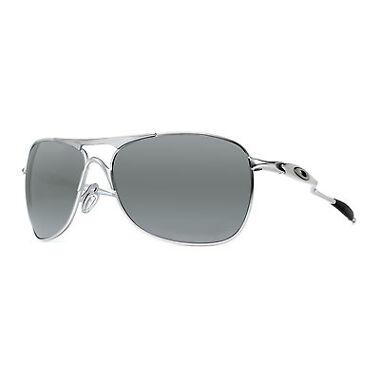 Oakley Crosshair Matte Lead/Black Aviator Sunglasses