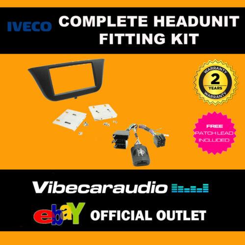 Connects 2 ctkiv 01 Iveco al día 2014 /> Doble Din Kit De Montaje Estéreo Fascia Tallo