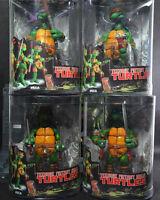 New 4pcs NECA TMNT TURTLES Teenage Mutant Ninja Turtles PVC Figures Figurines