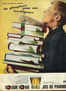 Publicite 1965 Jus De Pomme Donne Des Vitamines Publicités Papier