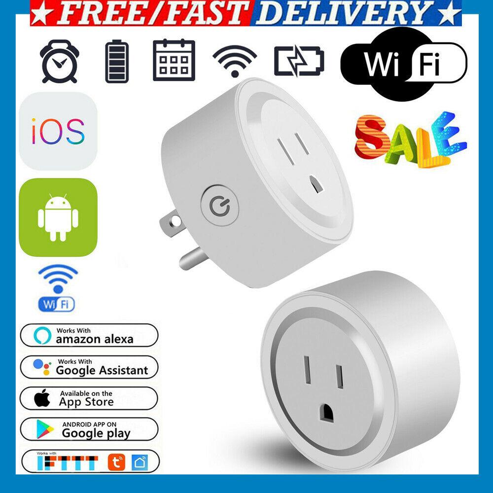 WiFi Smart Plug Power Switch Outlet Alexa Echo Smart Home Wi