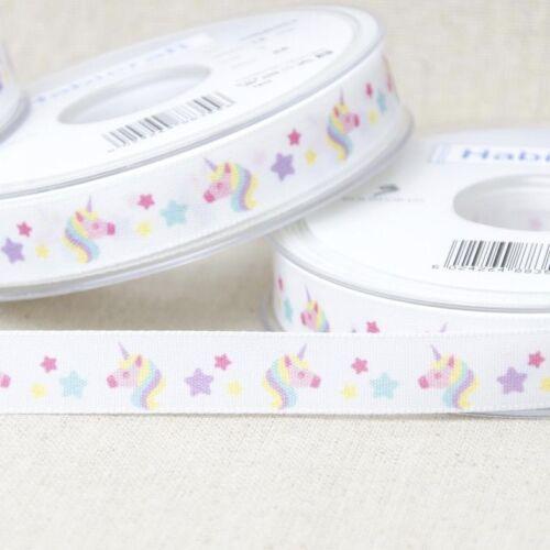 Dogs Alpaca /& Unicorn Ribbons Cats 15mm wide  Sold PER METRE