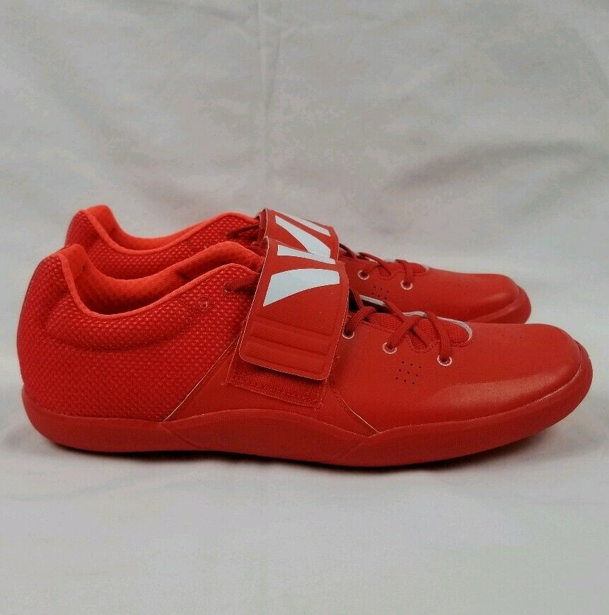 Adidas Adizero Shotput Discus shoes Men's Sz 11.5 Red BB4118 Track