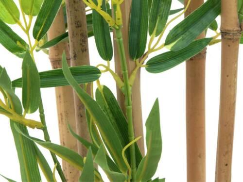 Deko Baum Kunstbaum Plastik Baum artplants Künstlicher Bambus ELISSO 150cm