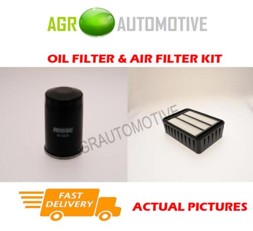 PETROL SERVICE KIT OIL AIR FILTER FOR MITSUBISHI LANCER S 1.8 143 BHP 2008-11
