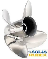 SOLAS RUBEX 3  15 X15 PROP FITS 135-300 HP MOTORS
