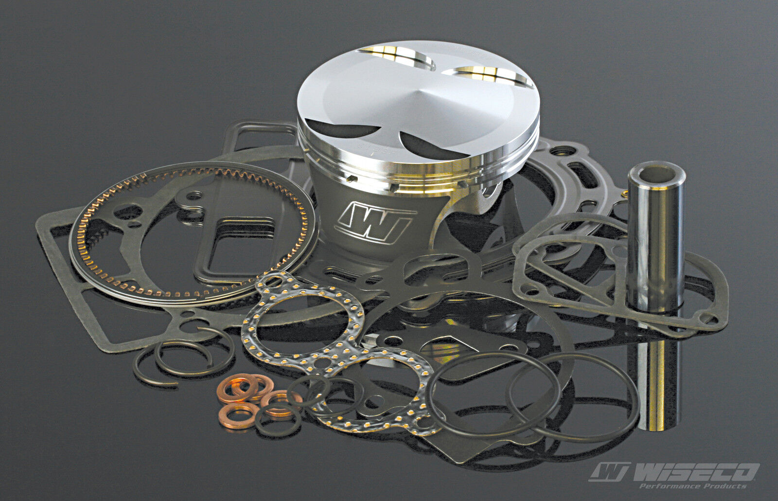 "Wiseco 88.00mm Top End Rebuild Kit 99-14 Honda TRX400EX Piston Gasket .120/"" Over"