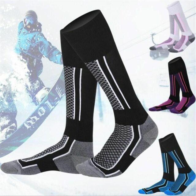 Thermal Women//Men Skiing Socks Winter Snow Sports Snowboarding Hiking Ski Warm