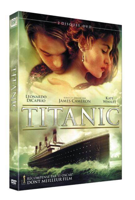 DVD *** TITANIC *** en 2 DVD avec L Dicaprio, Kate Winslet ( neuf sous blister )