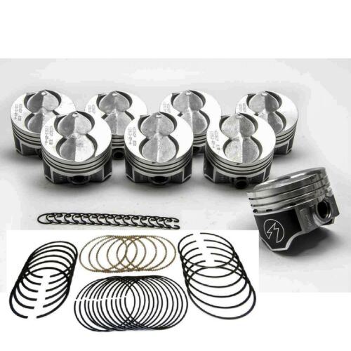 Ford 351W//5.8L Speed Pro Hypereutectic Coated Pistons+CAST Rings 30 OVERSIZE