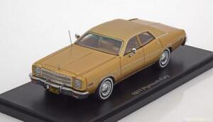 Plymouth Fury 1977 Gold Neo 46450 1/43 Résine Résine Limousine Usa Us Car