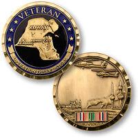 Operation Desert Storm Veteran Challenge Coin Iraq Kuwait Gulf War Saudi Arabia