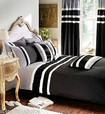 Luxury Valencia Duvet Cover & PillowCases, Curtains & Cushion Cover Bedding Set