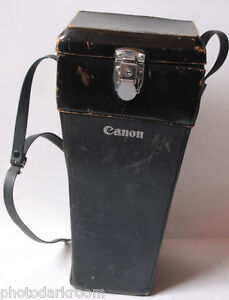"Canon 14"" Hard Case for Long Lens ~4x6x14"" Outer Dimensions - VINTAGE - F06"