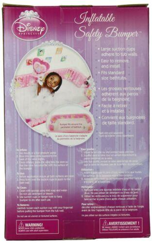 Disney Inflatable Safety Bathtub Bumpers Princess