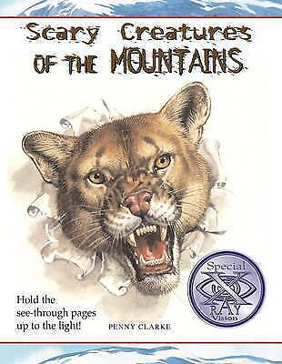"""VERY GOOD"" Scary Creatures of the Mountains (Scary Creatures), Clarke, Penny, B"