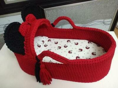 Baby Moses Basket Made-To-Order Available for All Colors