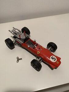 Schuco #1073 Ferrari Formel 2 Scale 1:16 Wind Up Toy Race ...