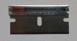 40 Spare replacement Single Edge Razor Blades Window paint Scraper made in USA