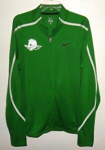 para equipo deportiva Oregon hombre Xl chaqueta Ducks Rare Nike Track Puddles Nuevo Top 54qUAwU