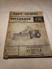 Hough H 400 Payloader Parts Catalog 1966 Manual Pm H 400 1